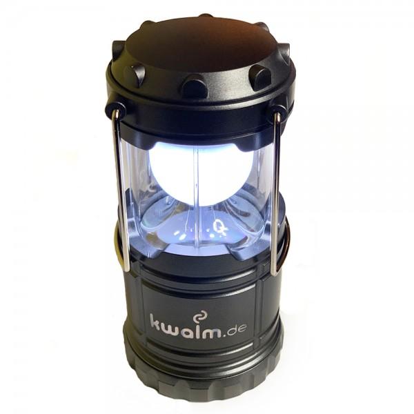 Campinglampe 1 Watt 60 Lumen eingeschaltet