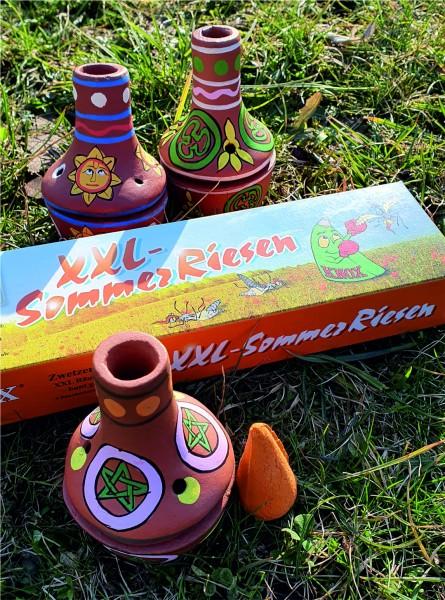 Sommerräucherset - Feuertöpfchen PENTA und Sommerriesen