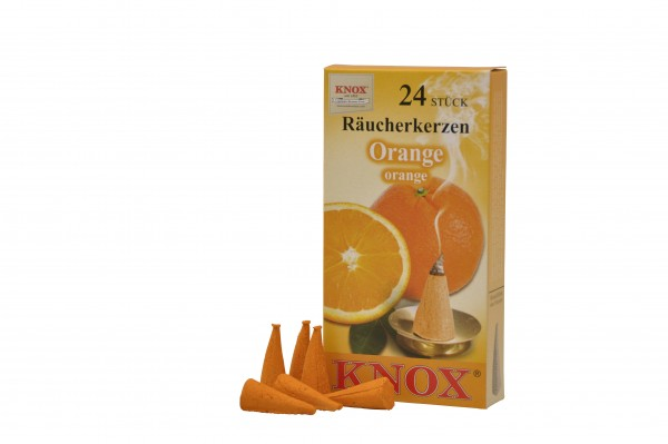Räucherkerzen Orange